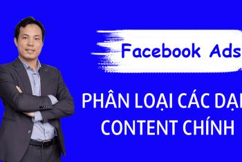 Các dạng content marketing hiệu quả trong quảng cáo facebook