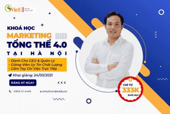 Khai Giảng Khoá Học CMO K5 Hà Nội – Giám Đốc Digital Marketing 2021