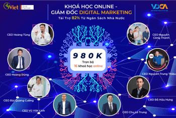 """Học Trọn 10 Kỹ Năng Digital Với Combo Khoá Học Digital Marketing Online """"Siêu Rẻ"""""""