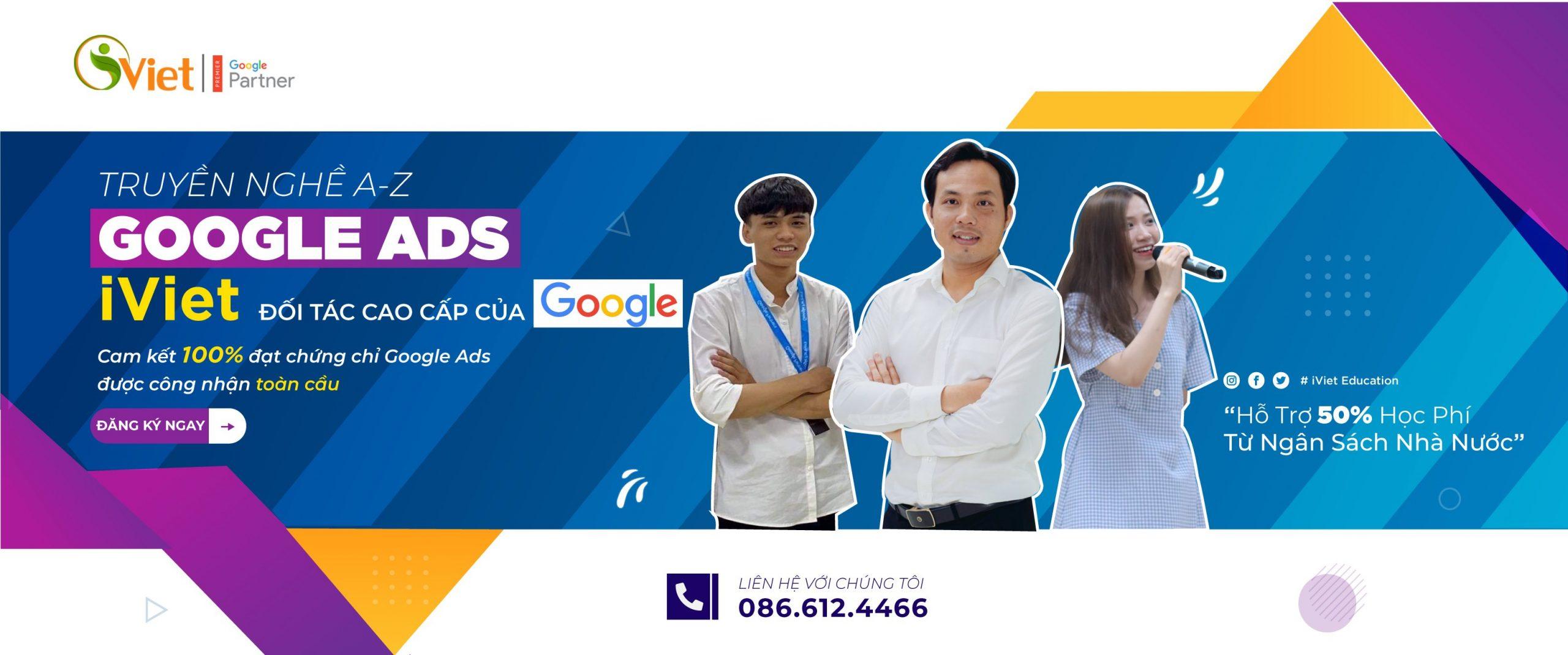 Khoá học Google Ads Tại iViet